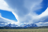 Horns of Paine Mountains  Torres Del Paine National Park  Patagonia  Chile  South America