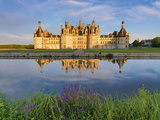 France  Loire Valley  Chateau De Chambord  Detail of Towers