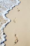 Caribbean  Dominican Republic  La Altagracia Province  Punta Cana  Bavaro  Footprints in the Sand