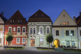 Radnicne Square at Dusk  Bardejov (Unesco World Heritage Site)  Presov Region  Slovakia