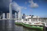 Star Ferry and Hong Kong Island Skyline  Hong Kong