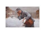 Postman In Storm