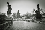 Charles Bridge  (Karluv Most)  Prague  Czech Republic