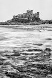 Bamburgh Castle  Northumberland  Uk