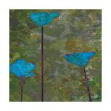 Teal Poppies II