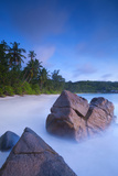 Beach in Southern Mahe  Seychelles