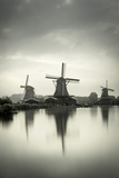 Netherlands  North Holland  Zaandam  Zaanse Schans Windmills