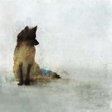 Friendly Fox Reproduction d'art par Ken Roko