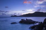Tropical Beach  Southern Mahe  Seychelles