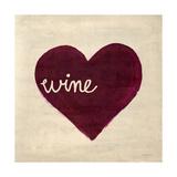 Wine in My Heart Reproduction d'art par Morgan Yamada