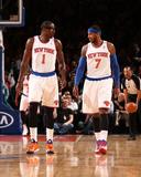 Feb 24  2014  Dallas Mavericks vs New York Knicks - Amar'e Stoudemire  Carmelo Anthony