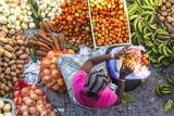 African Market  Assomada  Santiago Island  Cape Verde