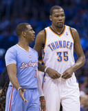 Feb 23  2014  Los Angeles Clippers vs Oklahoma City Thunder - Chris Paul  Kevin Durant