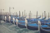 Italy  Veneto  Venezia District  Venice Gondolas