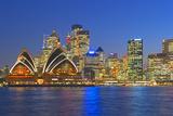 Opera House and Sydney Skyline  Sydney  New South Wales  Australia