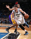 Feb 4  2014  Los Angeles Lakers vs Minnesota Timberwolves - Kevin Love