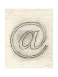 Symbol @ in Pen