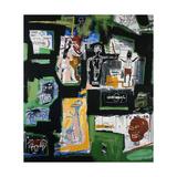 Sans titre Giclée par Jean-Michel Basquiat