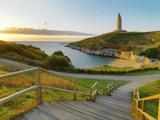 Spain  Galicia  La Coruna  Torre De Hercules