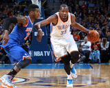 Feb 9  2014  New York Knicks vs Oklahoma City Thunder - Kevin Durant