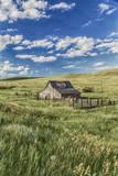 Old Barn  Montana  Usa
