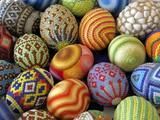 Multicolored Eggs Craft
