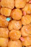 Caramelized Cream Buns Macro