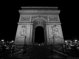 The Arc de Triomphe View from Champs-Elysees