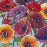 Electric Poppies 1 Reproduction d'art par Norman Wyatt Jr.