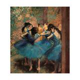 Dancers in Blue (Danseuses Bleues) Giclée par Edgar Degas