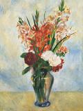 Flowers in a Vase Gladioluses