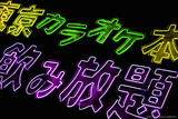 Akihabara Purple Neons