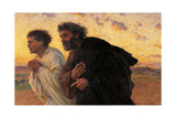Disciples Peter and John Running at the Sepulchre on the Morning of the Resurrection