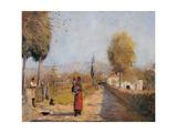 Landscape (A Road in Mugello)