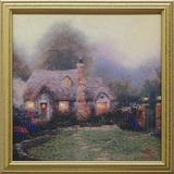 Evening at Merritt's Cottage