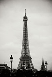 Eiffel Tower BW II