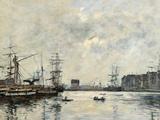 The Port of Le Havre (Dock of La Barre)