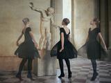 Ballerine Dans Le Noir