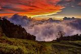 Mountain Cloud Sunset