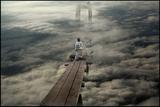 Standing on the Bridge Papier Photo par Viktor Pozdnyak