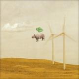 Turbine Troubles Papier Photo par Janine Graf