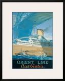 Orcades  Orient Line to Australia  c1948