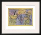Steamboat and Sailing Boats  c1931