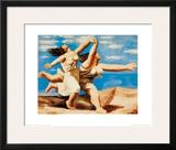 Women Running on the Beach  c1922