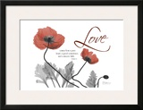 Love Poppies in Red