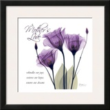 Mothers  Purple Tulips
