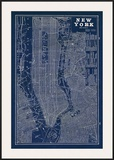 Blueprint Map New York