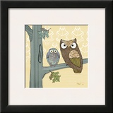 Pastel Owls IV