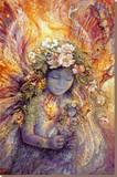 The Fairy's Fairy Tableau sur toile par Josephine Wall