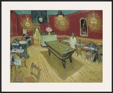 The Night Café in the Place Lamartine in Arles  c1888